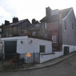 Townhouse backing on to river severn fvor sale in Llanidloes