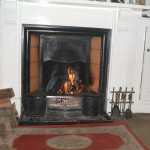 living room in cottage for sale in Myddfai - where price charles has a home