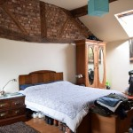 bedroom in oswestry barn conversion property for sale
