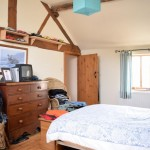 bedroom - oswestry /shropshire barn conversion with annexe for sale
