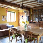 dining room shropshire / welsh border barn conversion for sale