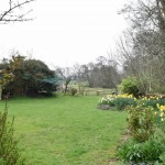 gardens in welsh border barn property for sale