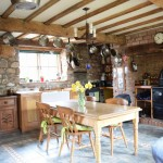 kitchen in barn conversion oswestry