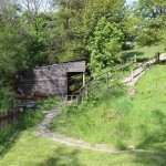 garden in welsh rural property for sale in llangurig powys
