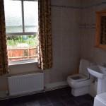 Georgain bathroom in Welsh townhouse for sale