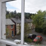 view from bedroom, property for sale Llanidloes