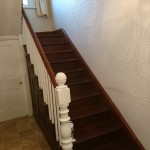 Hallway at house for sale in Llanidloes, Powys, Mid Wales