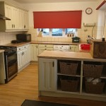 Kichen in Victorian home for sale in llanidloes. Powys Wales